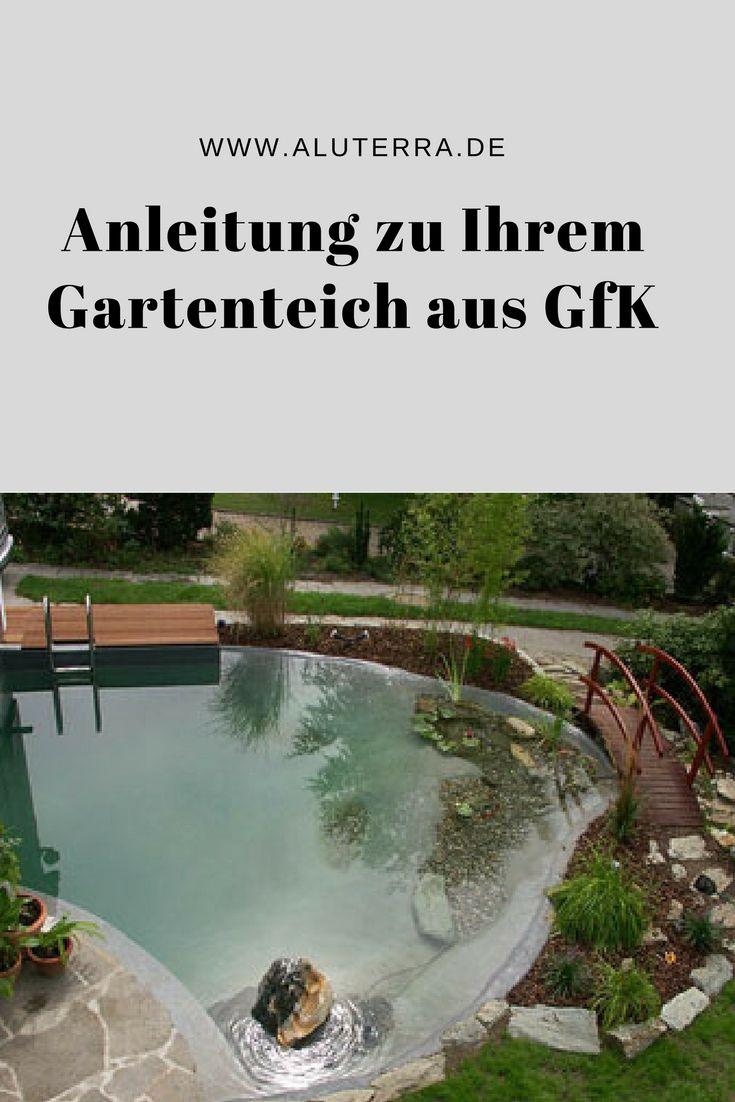 Garten Landschaftsbau Köln anleitung zum bau eines gfk teiches aluterra i how to i tutorial
