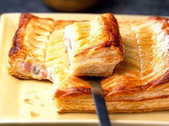 Découvrez la recette Tourte feuilletée aux champignons de Paris sur cuisineactuelle.fr.