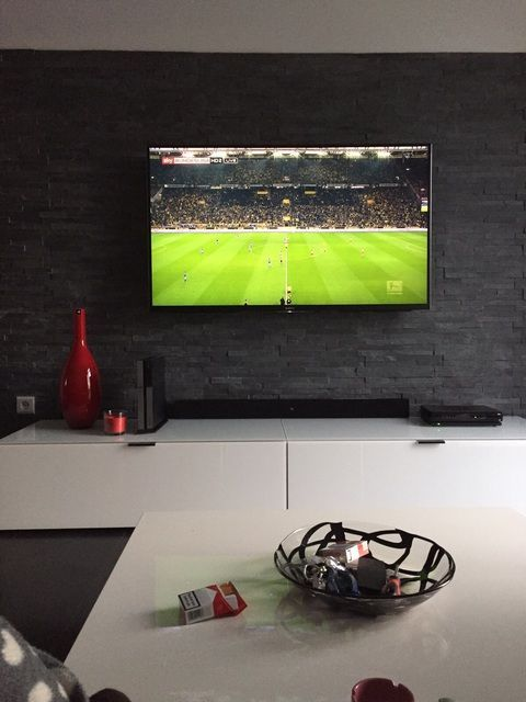 Image #tv unit design With Home Theatre Image   Steinwand ...