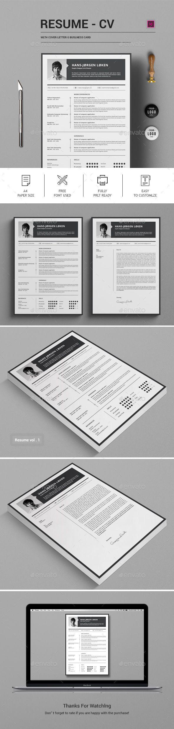 ResumeCV Stationery Print Templates ResumeCV