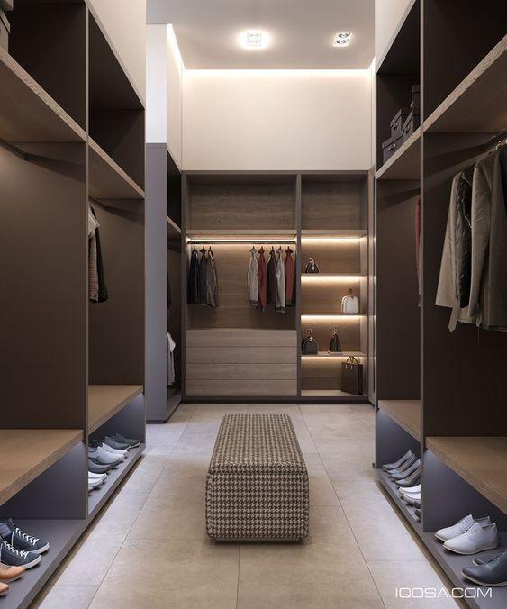 58 Stunning Walk in Closet Decorating and Design Ideas #decoratingsmalllivingroom