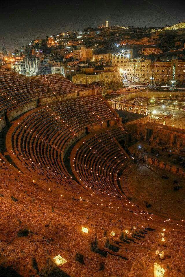Roman Theater, Amman, Jordan (Ancient Origins) #ammanjordan