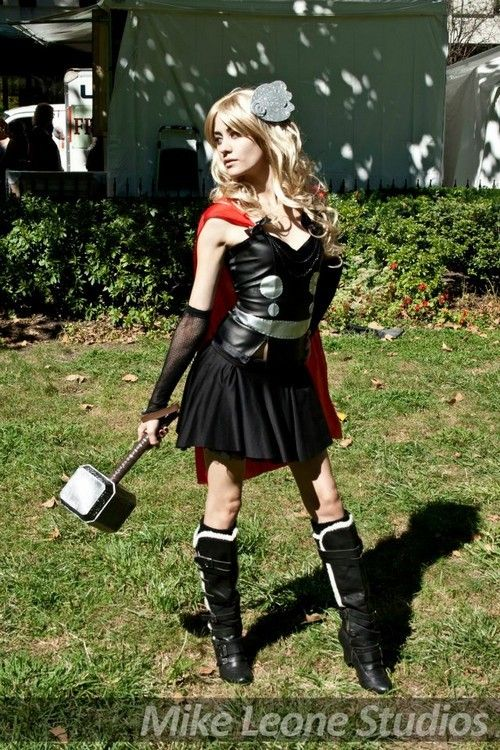 Female Thor Cosplay Costume If The Gown Is Too Much To Manage For