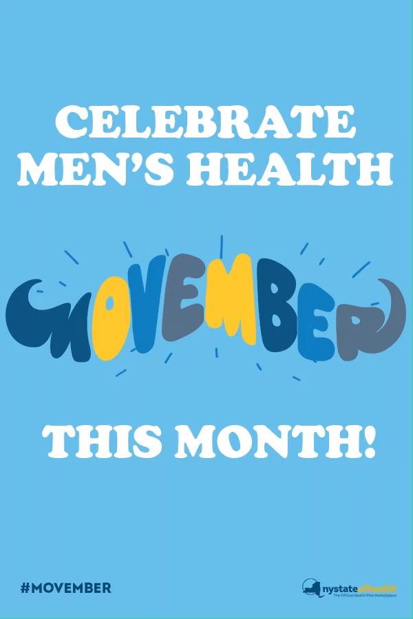 Show your support of men's health this month by growing a mustache for #Movember! #MensHealth #MensHealthMonth #NoShaveNovember #Moustache #Mustache #Beard #November #Men #Beards #Shave