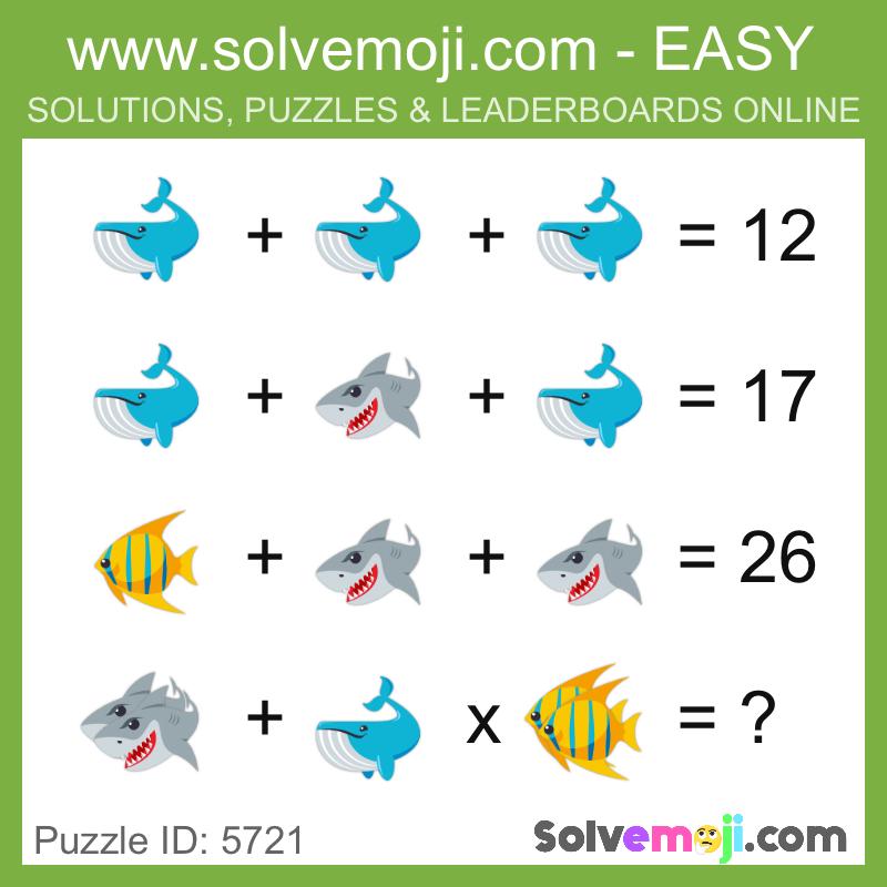 puzzle_5721 | חידות | Maths puzzles, Maths starters, Math