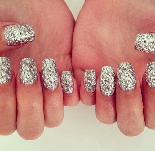 How to Chic: SEQUIN NAILS | nAiL aRt | Pinterest | Sequins ...