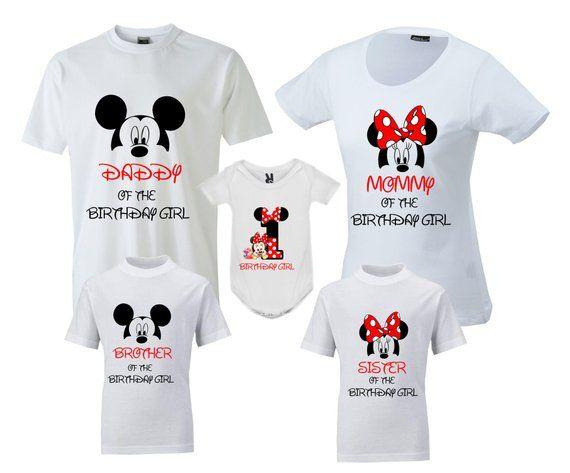 952470e0 Birthday Family Shirts Disney Birthday Family T-Shirt Birthday ...
