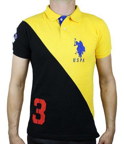 cc76b950a125e U.S. Polo Ass. Men s Slim Fit Color Block Polo Shirt (XL