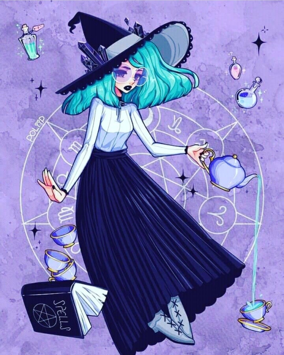 Pin by Grace Vaan on Great Art Witch drawing, Witch art, Art