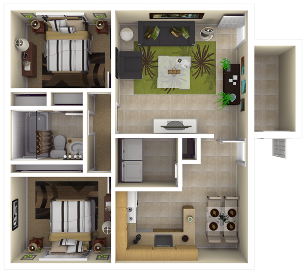 Simple 2 Bedroom House Designs Interesting Nsa Jrb New Orleans  Belle Chasse Neighborhood 2 Bedroom Home Design Inspiration