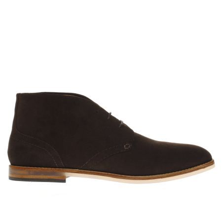 mens h by hudson brown hallam chukka 3 boots