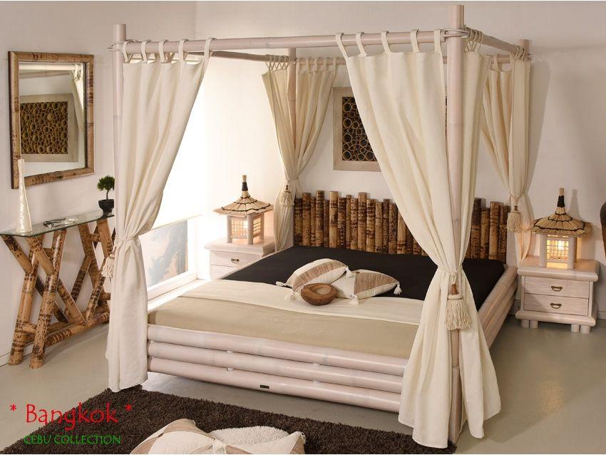 Bangkok Himmelbett Cebu Collection Himmelbetten Bett