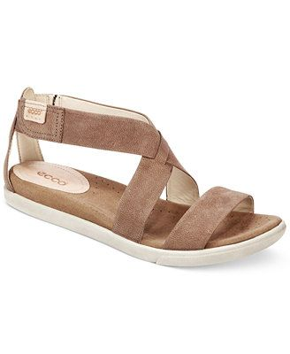 ae887bb0 Ecco Women's Damara Flat Sandals | Cozy Toes (Not Always Cute ...