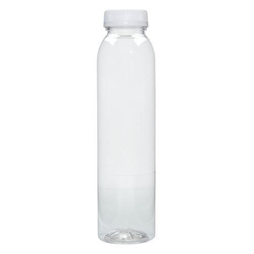 12 Oz Clear Pet Plastic Beverage Bottles Tamper Evident Cap Bottle Plastic Animals Bottle Cap