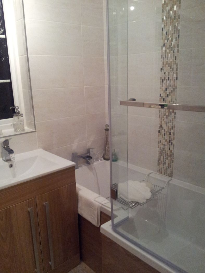 Anne Marie From Northampton Has A Modern Bathroom With Wooden Cool Bathroom Design Northampton Decorating Inspiration