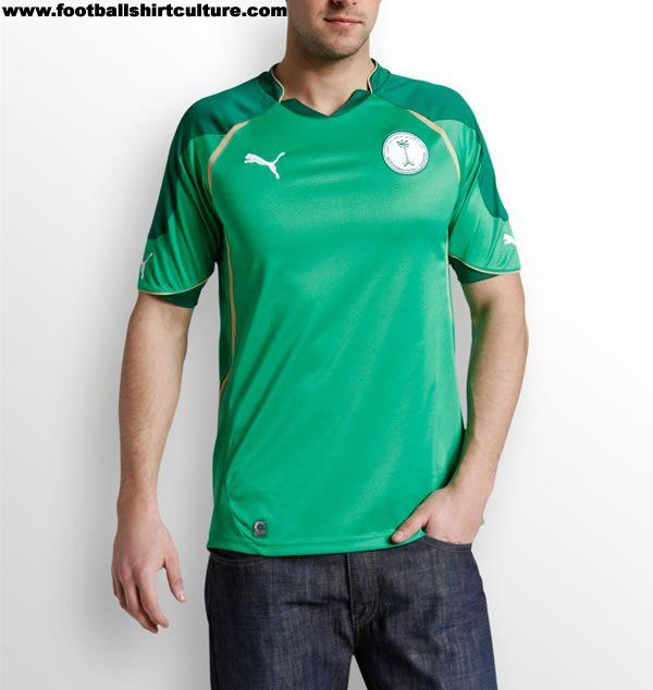 on sale ebe67 81495 Saudi Arabia 10/12 Away II Puma Football Shirt | 10/11 Kits ...