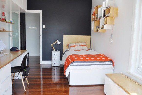Charming Coole Zimmer Ideen Für Jugendliche Und Jugendzimmer Modern Gestalten In  Schwarz Und Orange Awesome Design