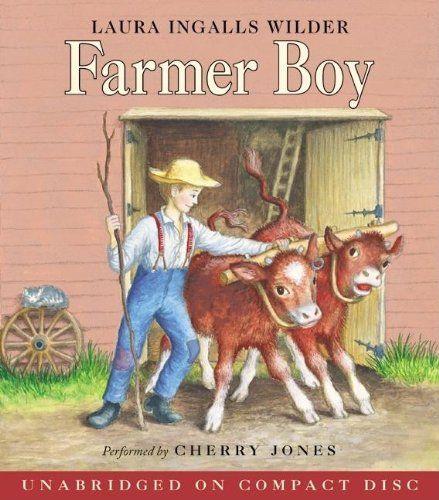 Farmer Boy CD (Little House-the Laura Years)  #HarperFestival #Book