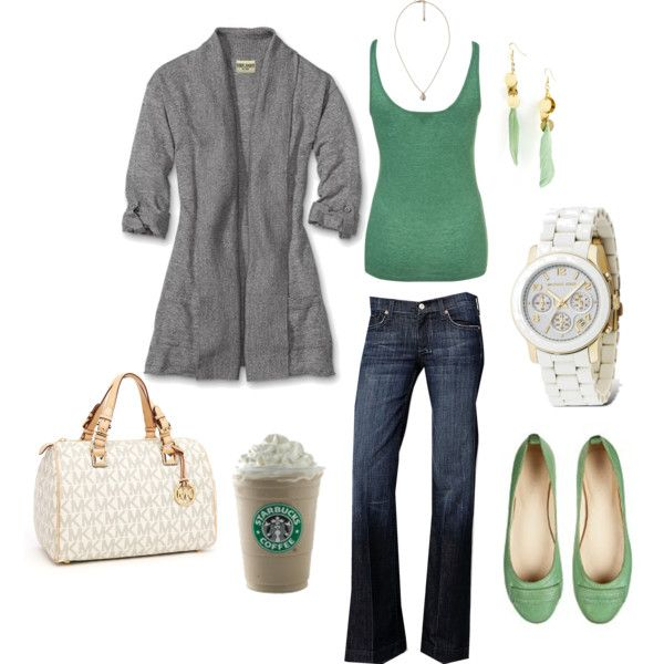 I can see me in this...including the Starbucks :)