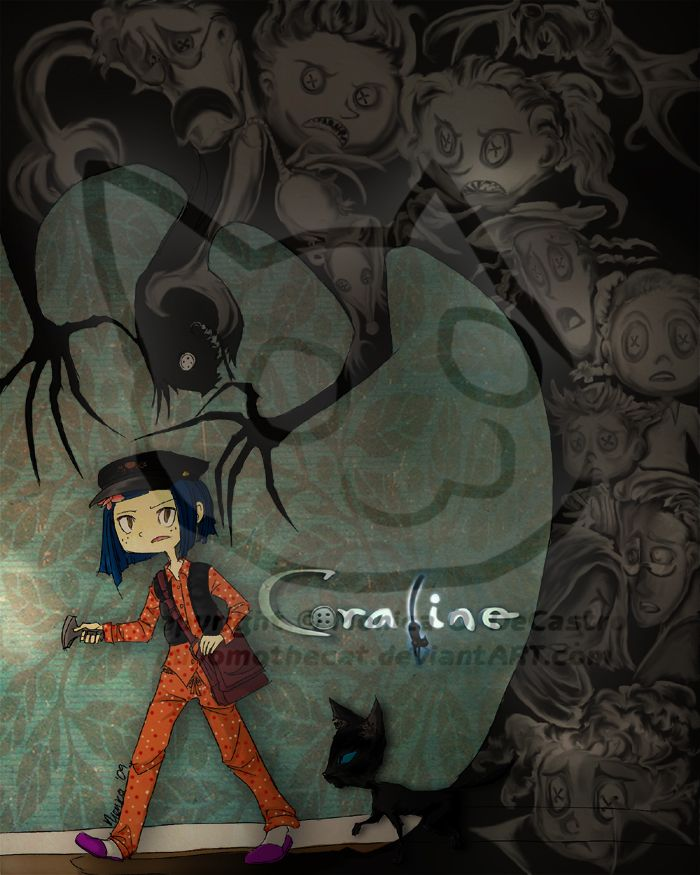 Coraline Smile By Bilious On Deviantart Coraline Art Coraline Jones Coraline And Wybie