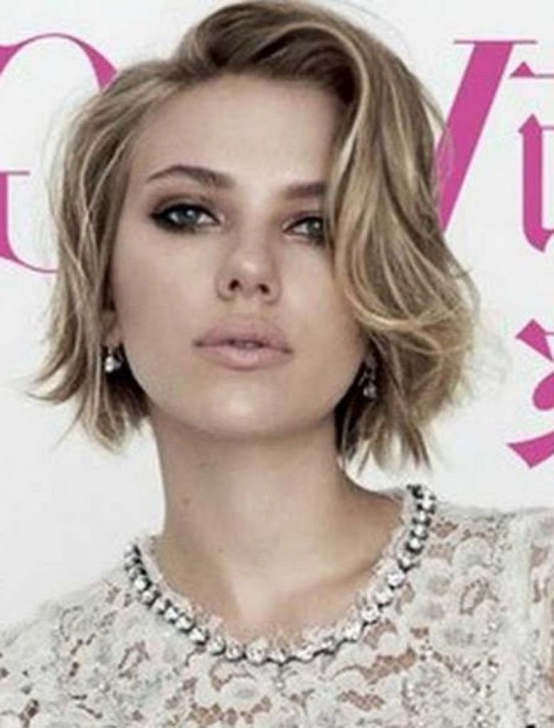 Short Hairstyles For Thick Wavy Hair And Long Face