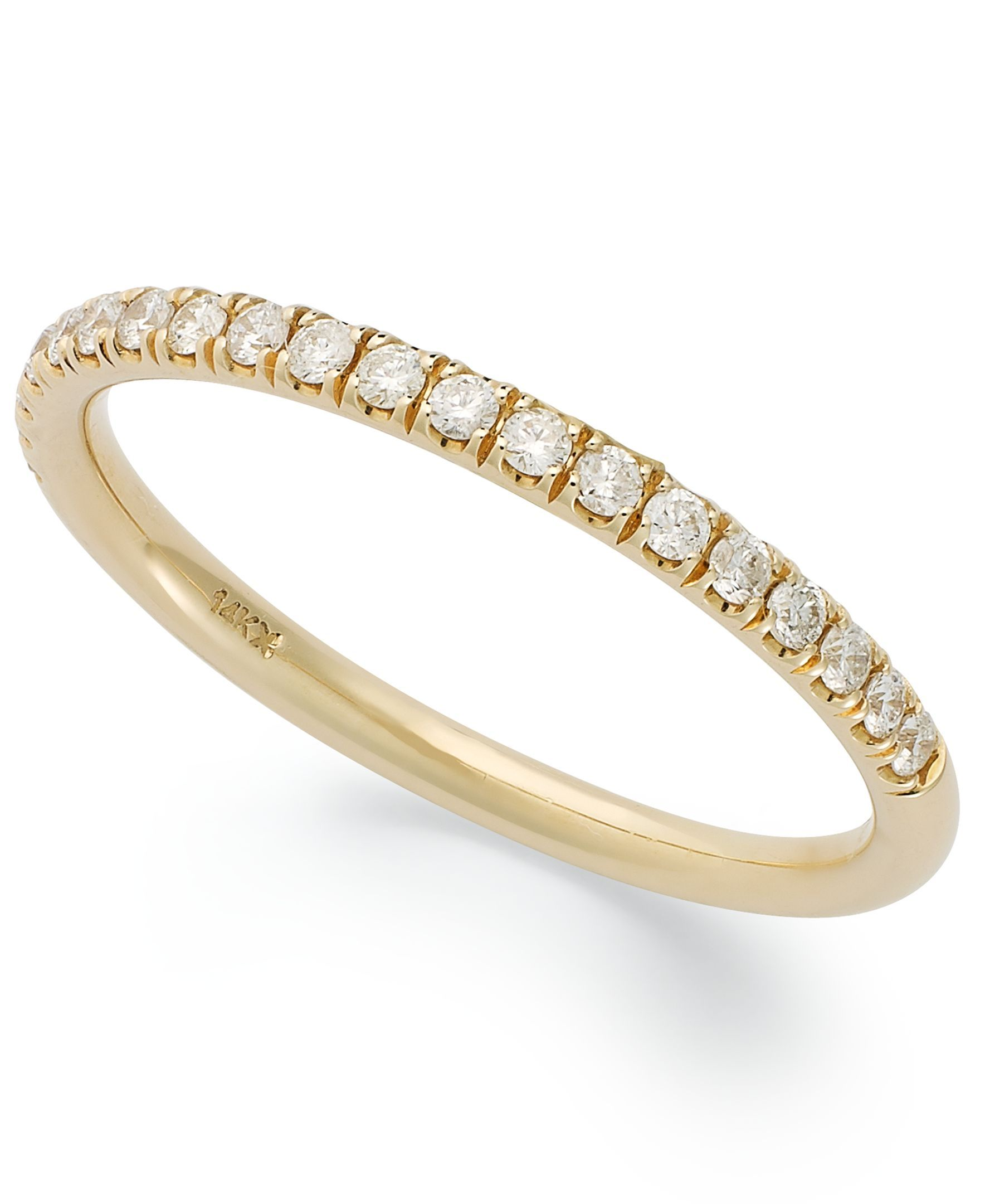 X3 Certified Diamond Anniversary Band in 18k Gold (1/4 ct. t.w.)
