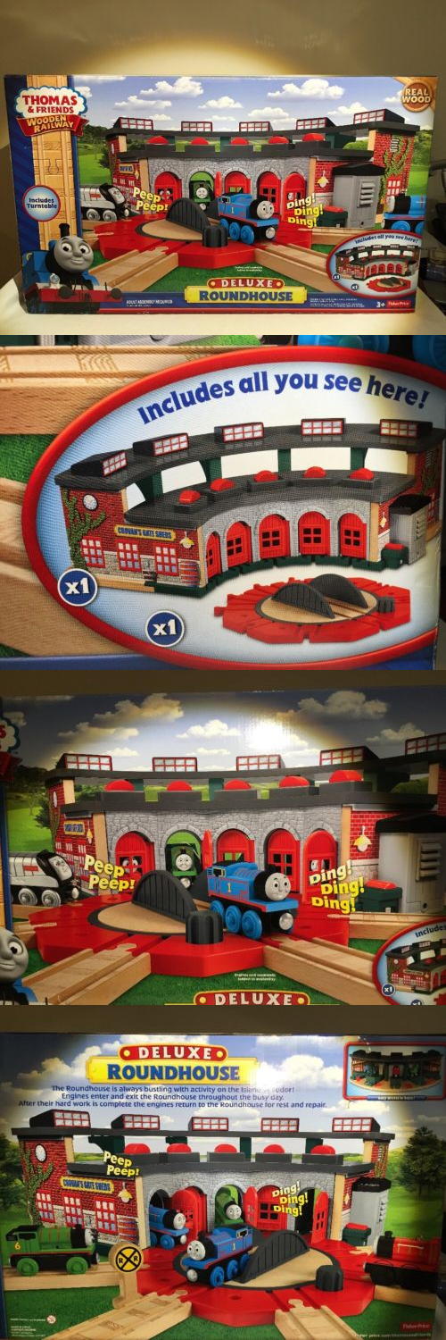 Accessories 113513: Thomas And Friends Wooden Railway Trains Deluxe ...