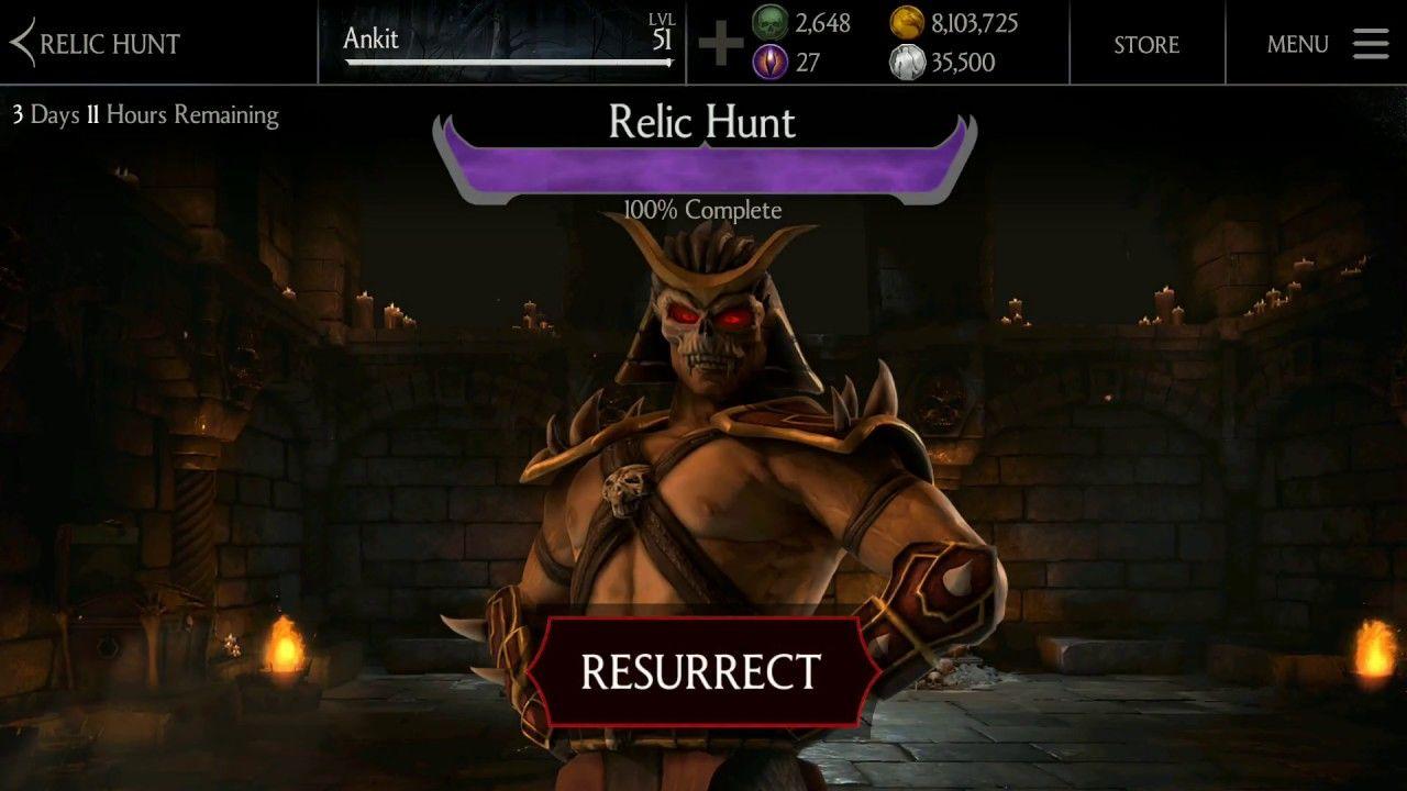 Shao Kahn RESURRECTED - Mortal Kombat X (Mobile) - YouTube