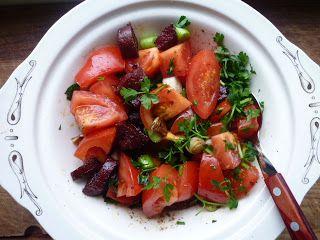 Wat ik gegeten heb: Jamie's tomatensalade uit Andalusië