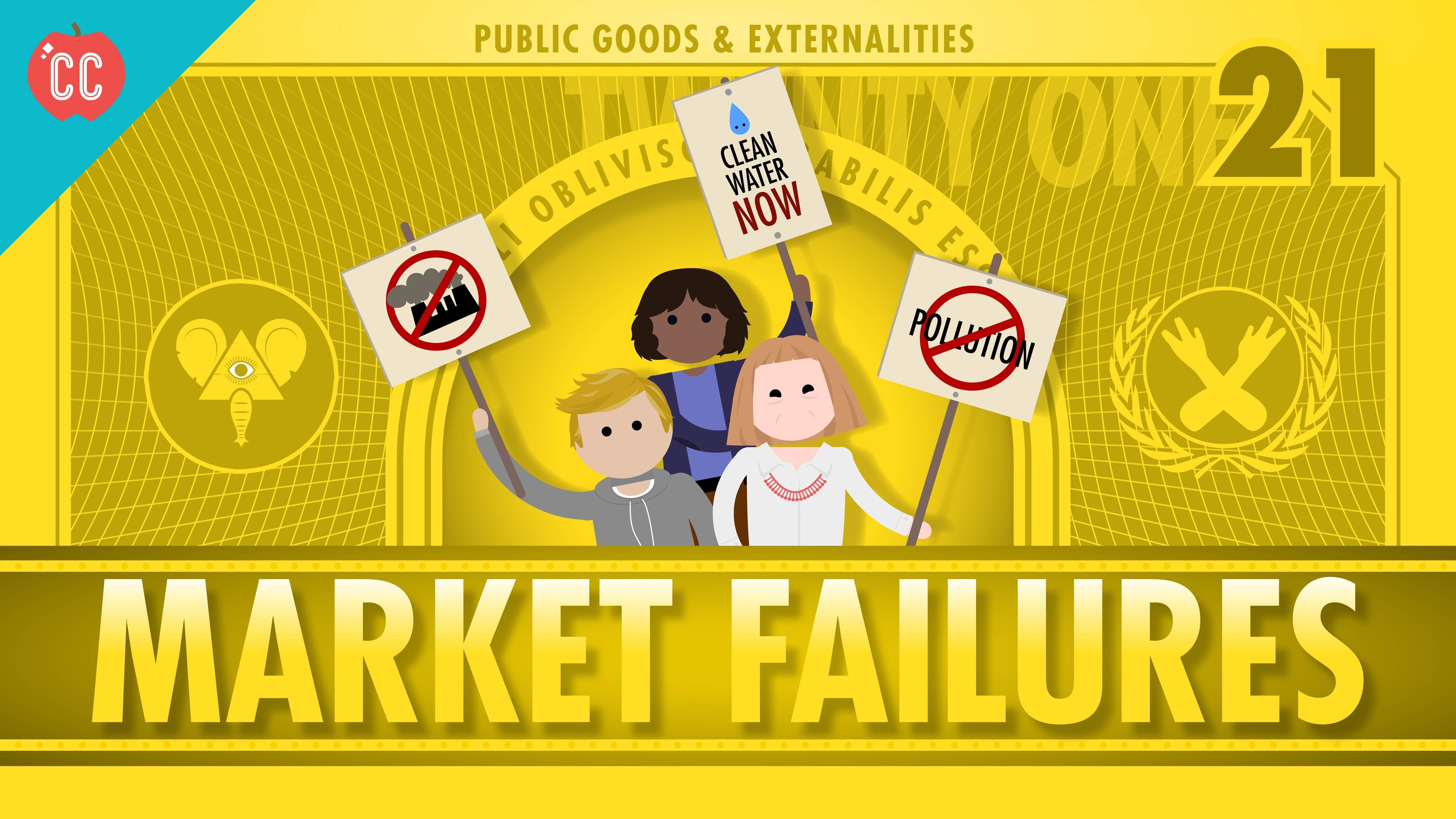 Market Failures Taxes And Subsi S Crash Course