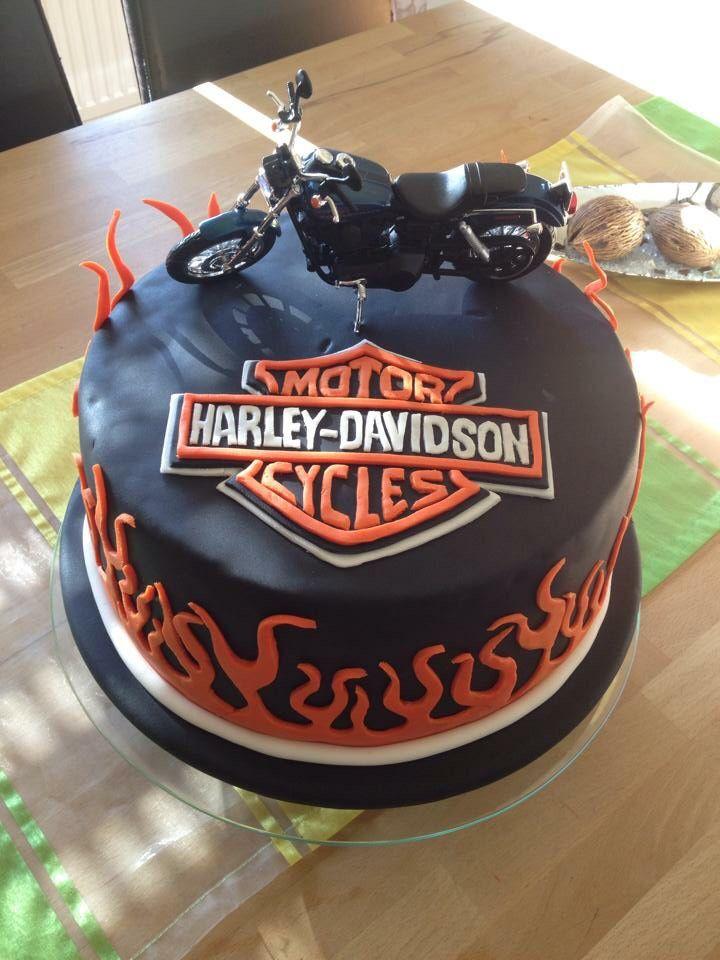 Harley Davidson Torte In 2019 Cake Torte Harley Davidson