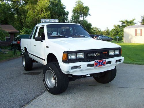 buy used classic! vintage 1986 nissan 4x4 720,4 wheel drive pickup