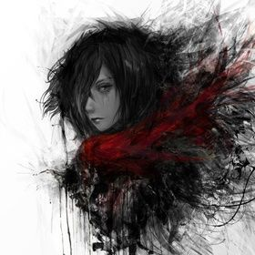 Mikasa Ackerman , an art print by Maxim G