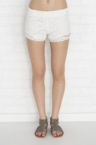 ALL OVER LACE KNIT SHORTS $17.50 (BOGO)