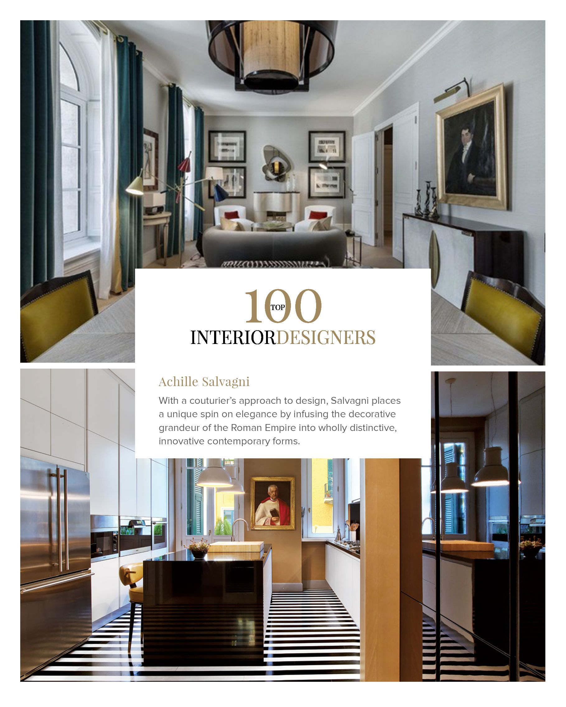 Boca do lobo and coveted magazine have selected an exclusive list featuring the best interior designers in the field