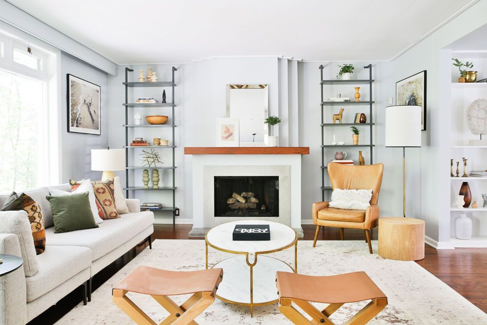 These Living Room Shelving Ideas Will Make Your Organizing Dreams Come True Modern Living Room Furniture Sets Living Room Sets Furniture Modern Furniture Living Room