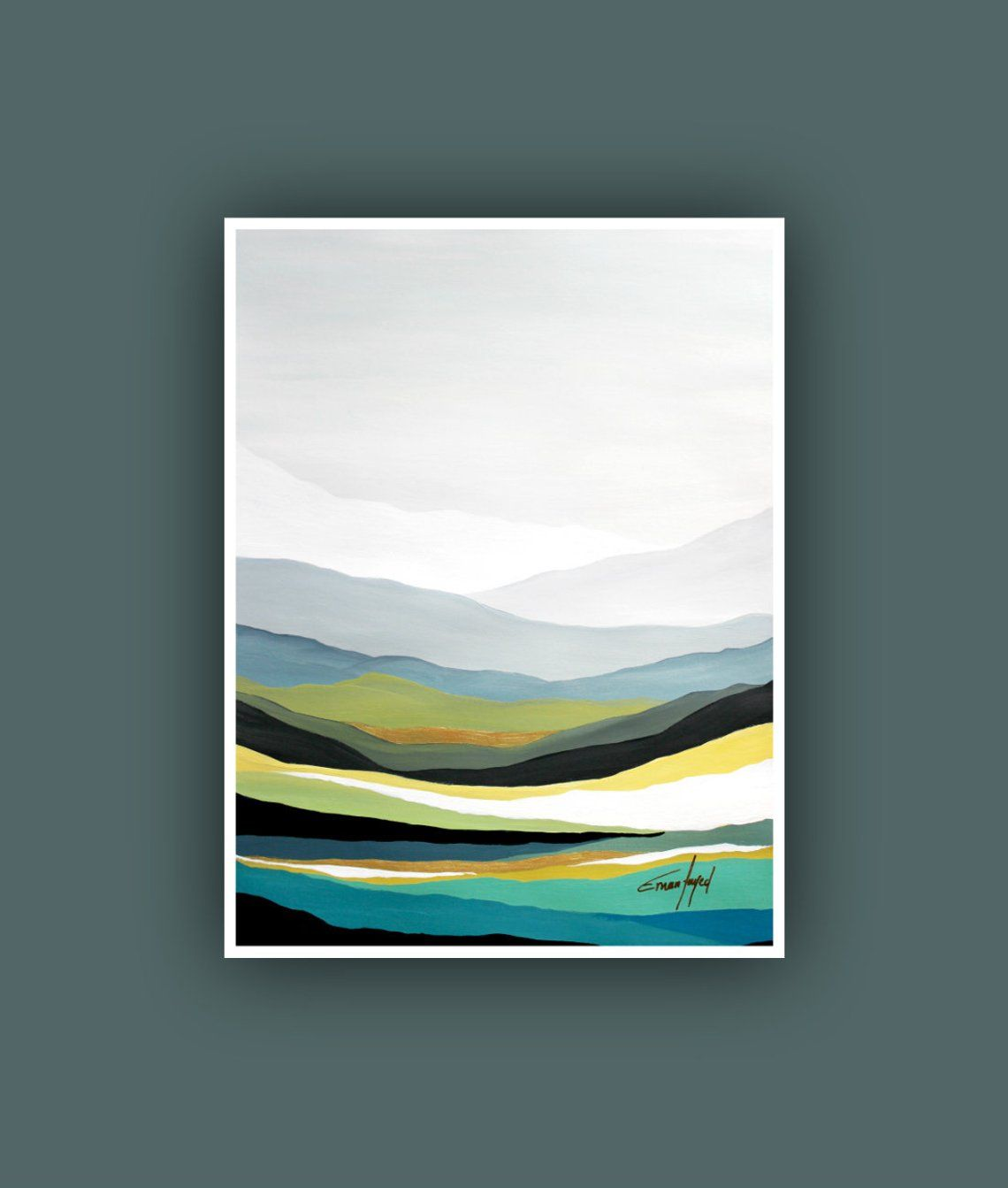 Printable Abstract Art Instant Digital Download Art Modern Art Prints Contemporary Art Mountain Painting Landscape Painting Fine Print Mountain Painting Acrylic Modern Art Prints Art Painting Acrylic