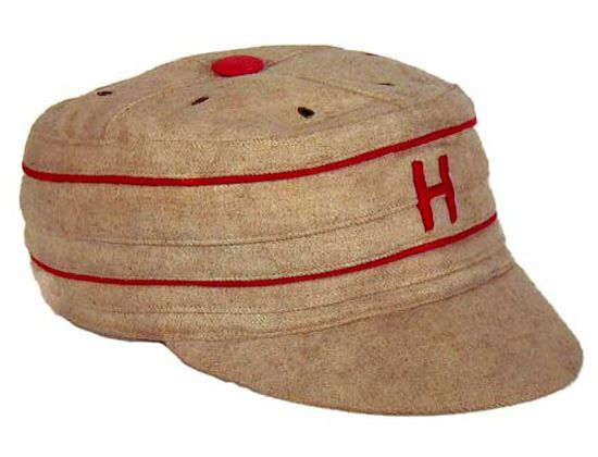 Vintage Harvard University Pillbox Baseball Cap Vintage
