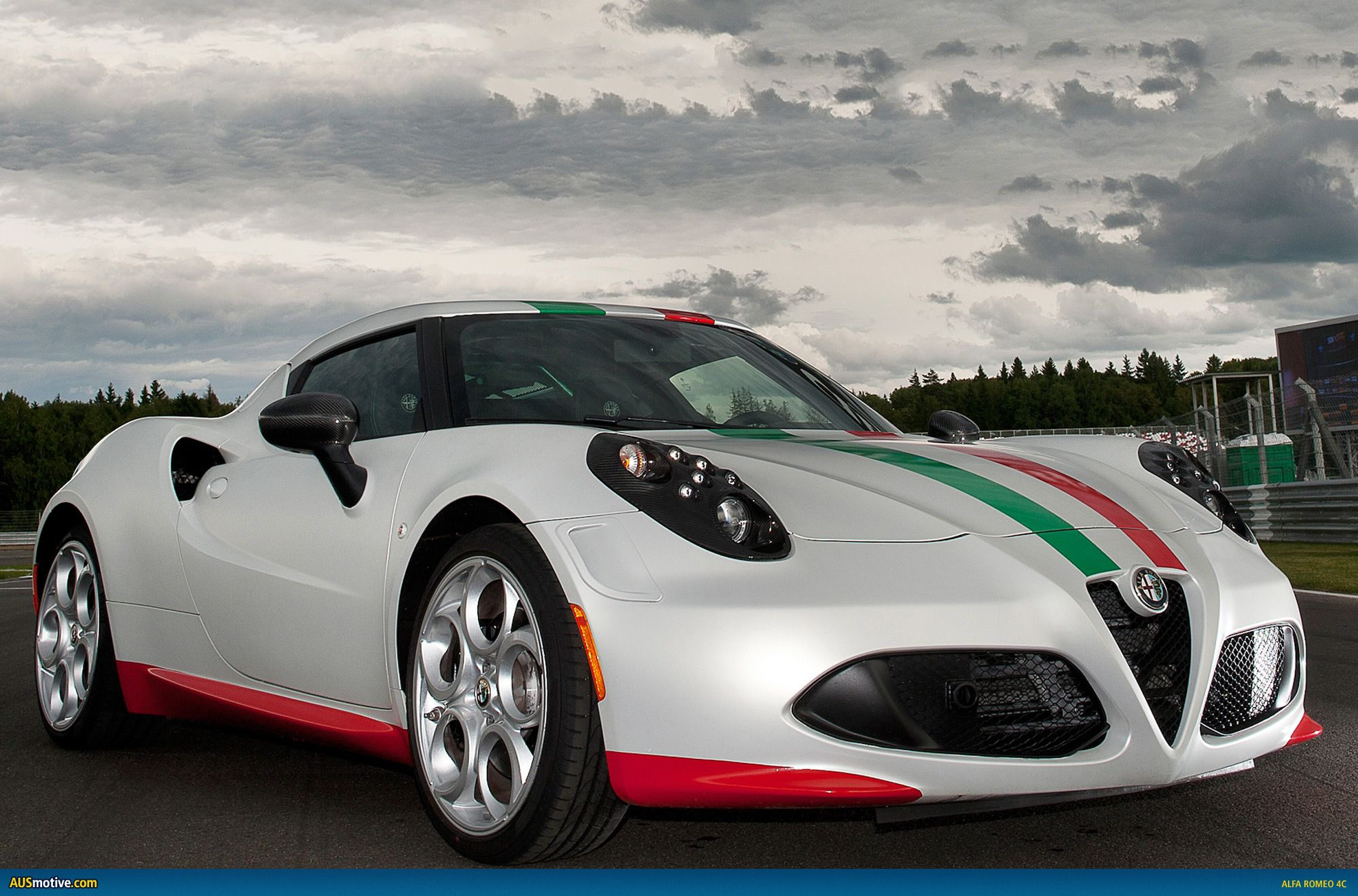 Safest Car Color: Alfa Romeo 4C Superbike Safety Car