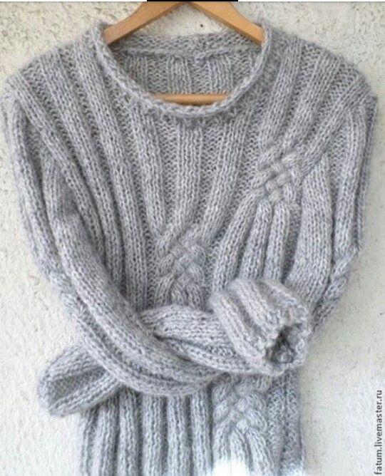 Pin von Nata Savvateeva auf мохер | Pinterest | Pullover, Stricken ...