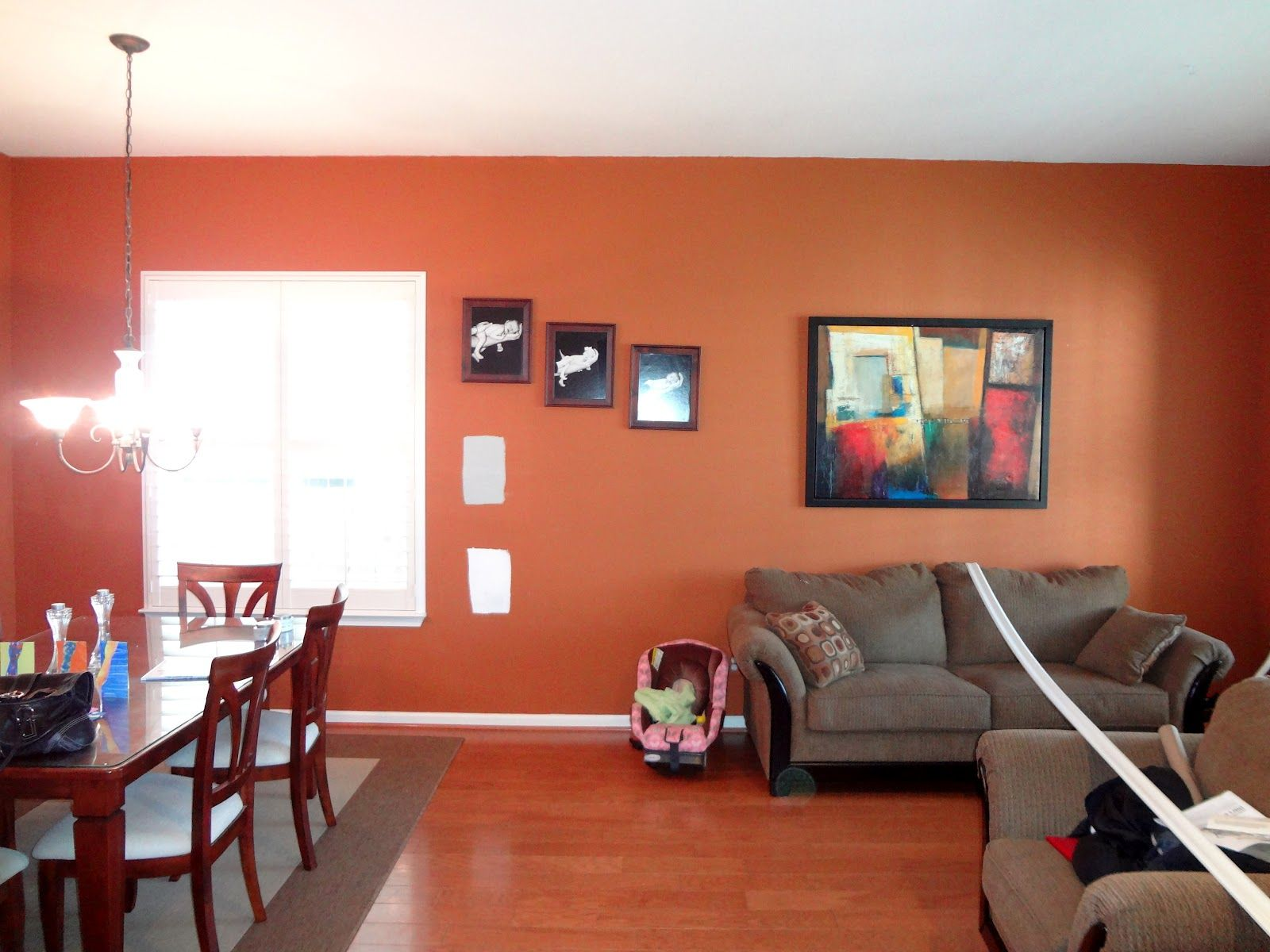 Living Room Wall Designs with Paint living colors 16000