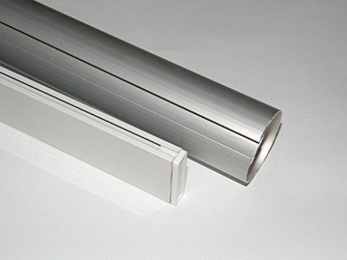 Metechs Aluminum Roller Shade Blind Rod With Bottom Bar Cl338t