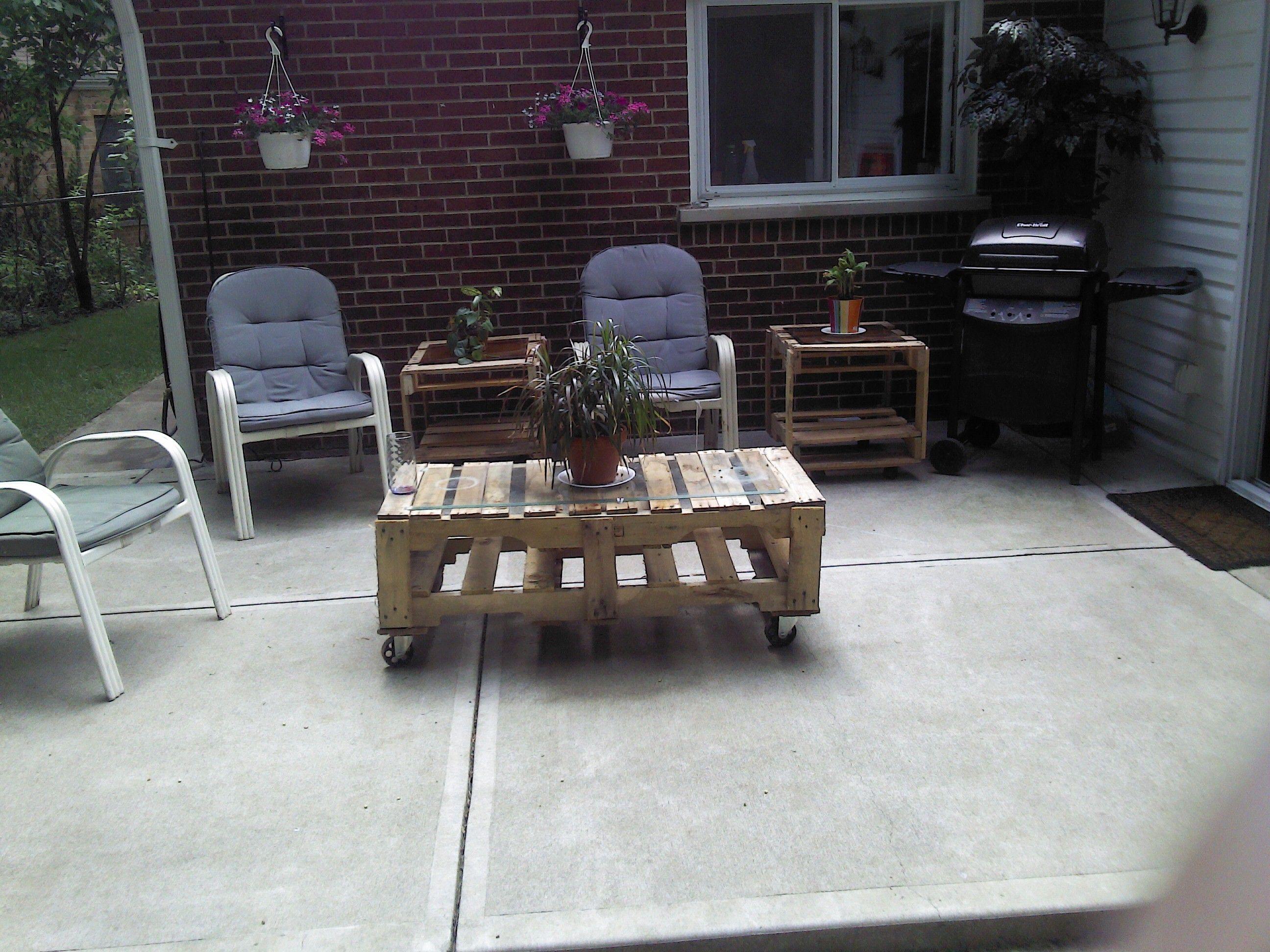 28 skid patio furniture 52 id 233 es pour fabriquer for Meuble patio palette