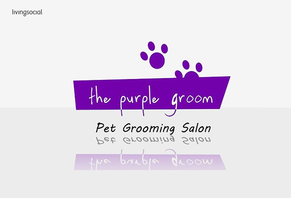 pet posters grooming purple   Location map