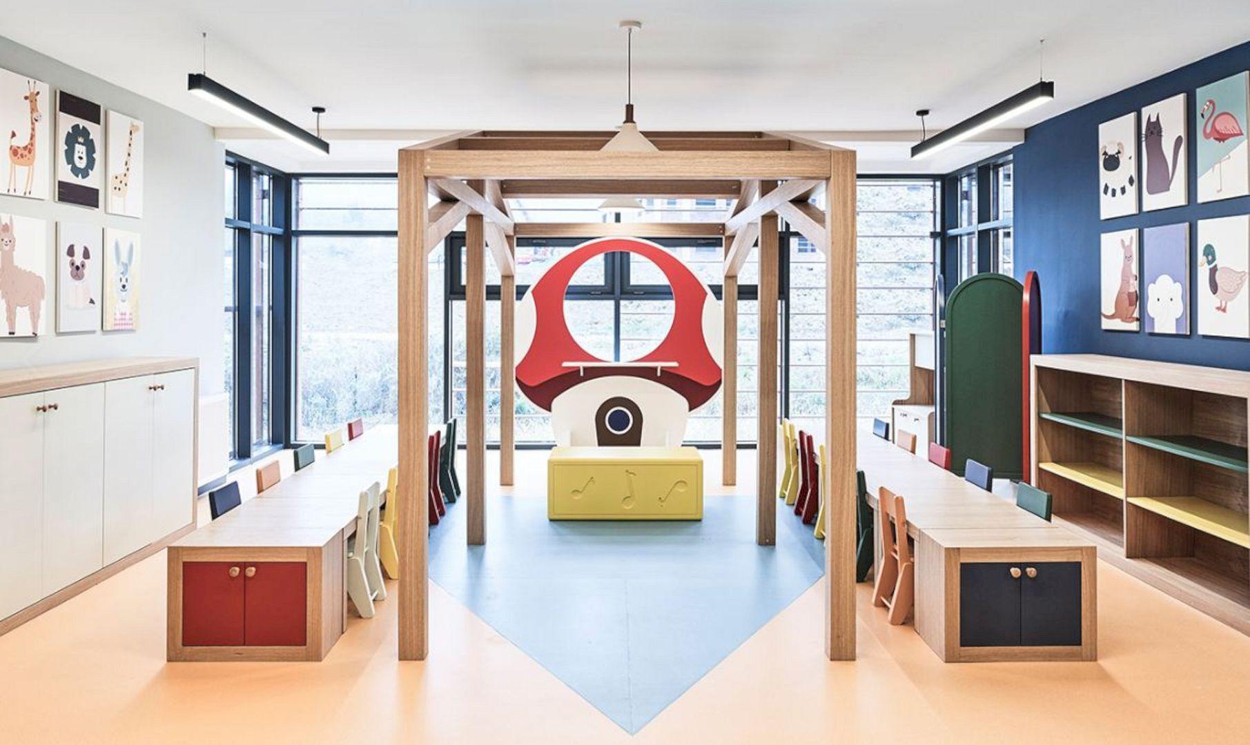 Ordu University Nursery Modern Interior Of Preschool Children Development Spaces Modern Interior Nursery Modern Interior