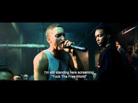 Eminem rap battle vs Papa Doc 8 Mile lyrics HD ƎR