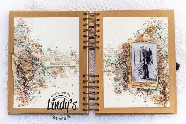 Vintage Art Journal Page With Pascale Vintage Journal Art Journal Pages Art Journal
