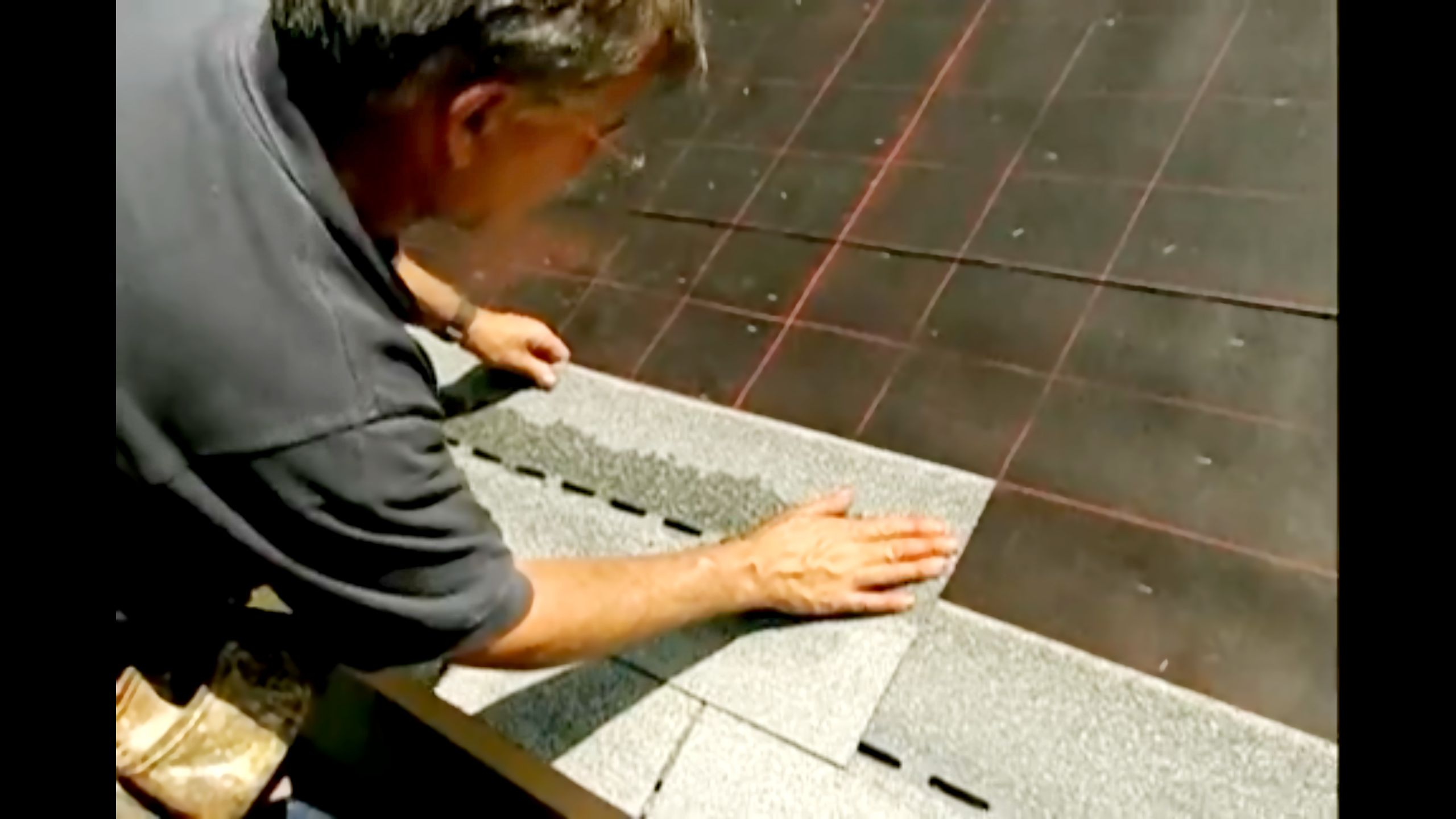 How to Reshingle a Roof Asphalt roof shingles, Roofing