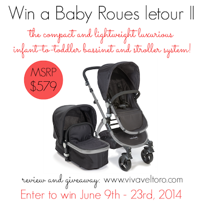 Baby Roues letour II Stroller Giveaway (ends 6/23/2014)