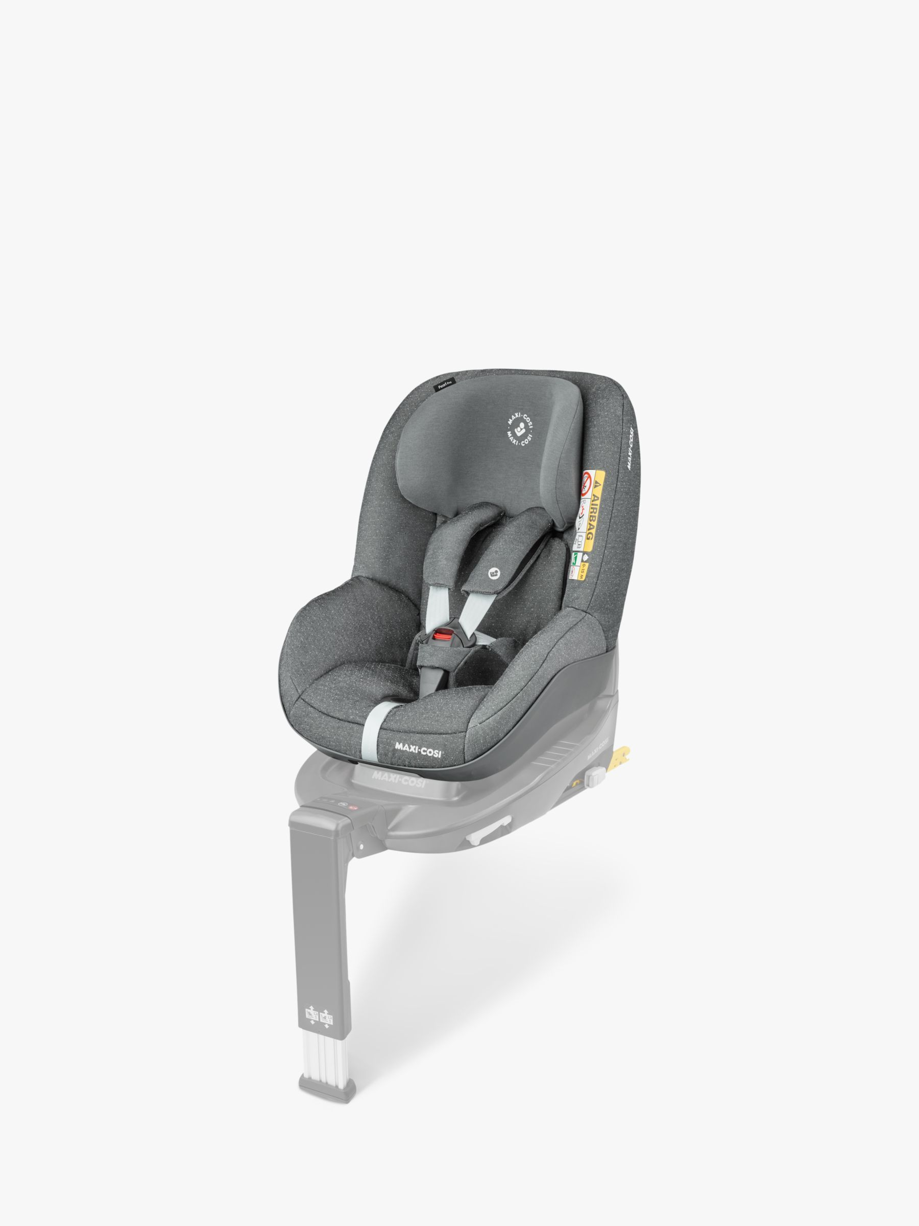 Maxi Cosi Pearl Pro I Size Group 1 Car Seat Sparkling Grey In 2020 Car Seats Baby Car Seats My Size